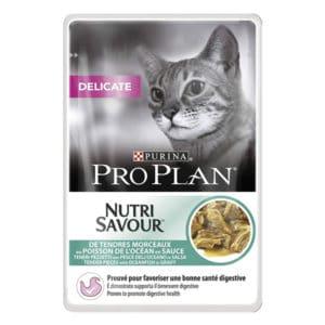 Purina Pro Plan Delicate au poisson pour chat