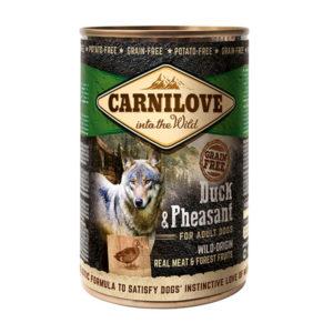 Pâtée pour chien Carnilove canard & faisan