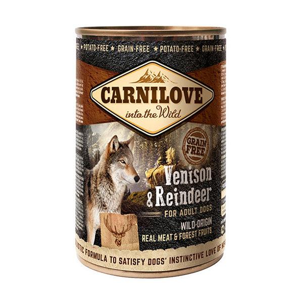 Pâtée chien Carnilove Reindeer