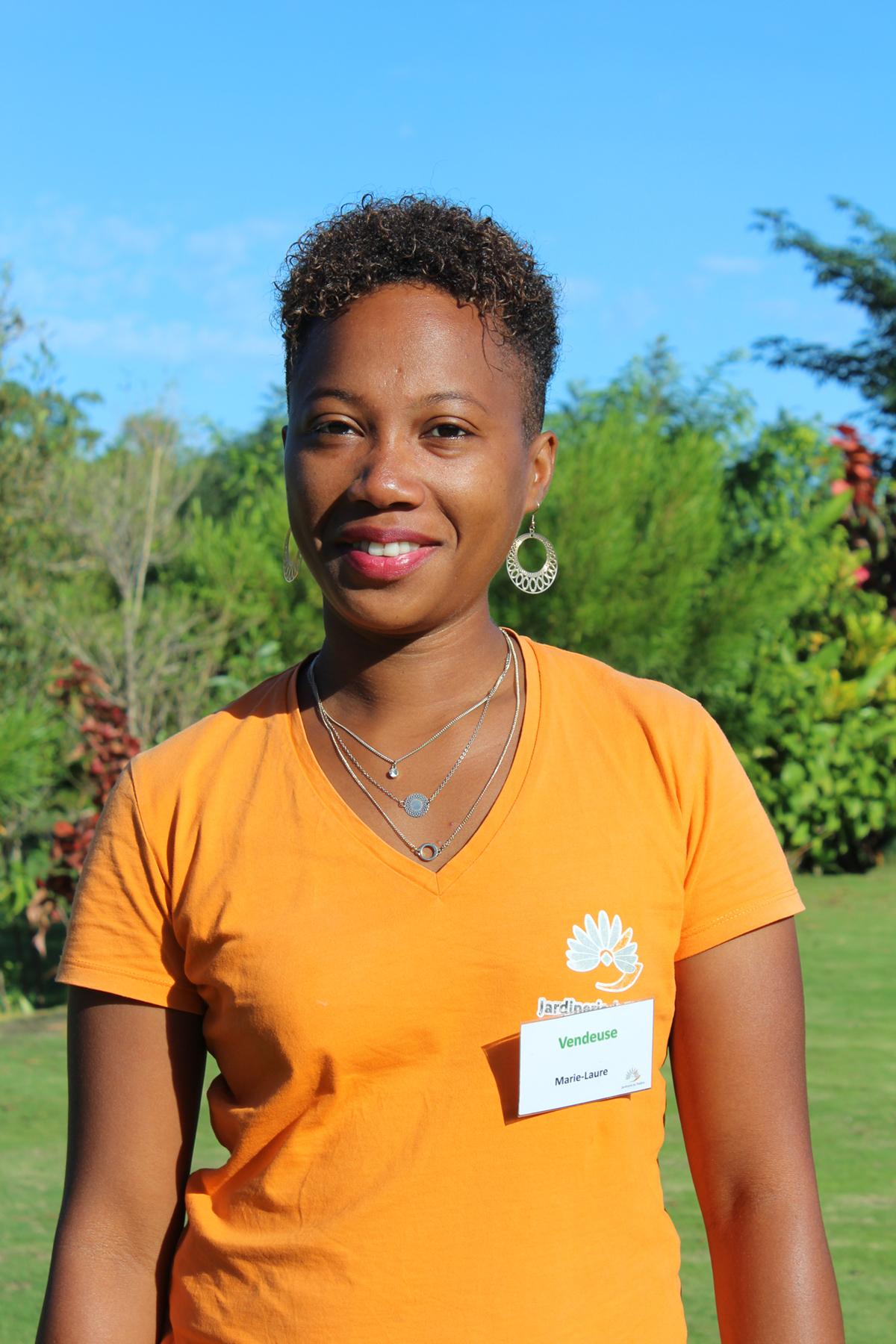 Marie-Laure Conseillère en végétal