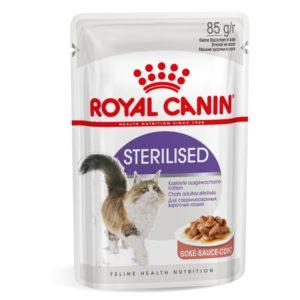 Royal Canin Sterilised en sauce pour chat