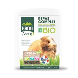 Optima repas complet bio cochon d'Inde - Hamiform