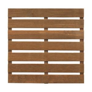 Dalle de terrasse en bois Choko