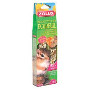 Baguettes écureuil miel noix