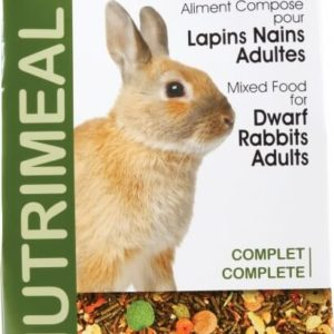Alimentation lapin nain adulte Nutrimeal Standard