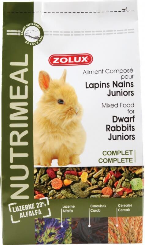 Aliment lapin junior NUTRIMEAL