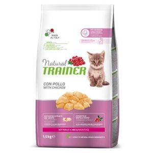 Natural Trainer Kitten Poulet pour chatons de 1 à 6 mois