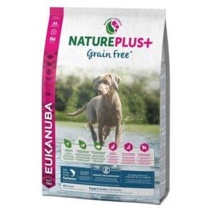 Eukanuba NaturePlus+ Grain Free Chiot & Junior au saumon