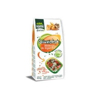 Crunchy's mélange légumes pour rongeurs