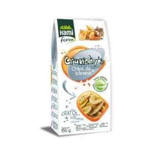 Crunchy's chips de banane pour tous rongeurs
