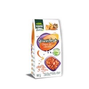 Crunchy's chips de carotte pour rongeurs