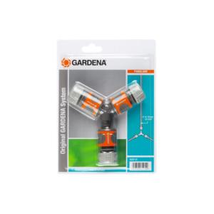 Nécessaire de dérivation en Y pour arrosage 13 mm et 15 mm GARDENA