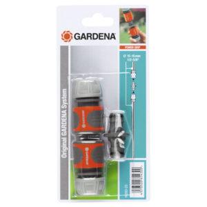 Nécessaire de connexion pour tuyau d'arrosage Ø 13 - 15 mm GARDENA