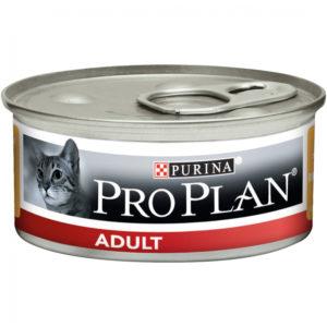 Purina Pro Plan Adult Pâtée au poulet en boîtes pour chat