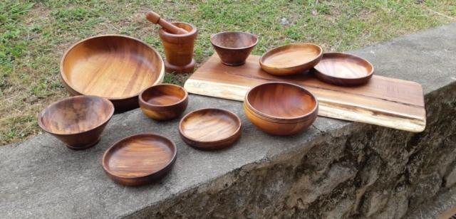 Le tournage d'art en bois de Au cœur des bois