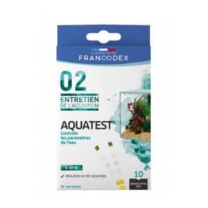 Francodex Aquatest 6 en 1 - 10 bandelettes