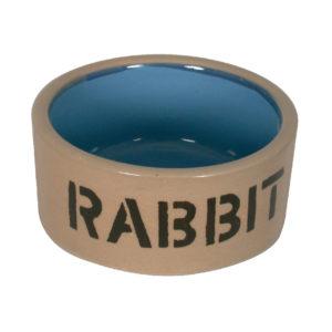 Ecuelle en grès pour lapin