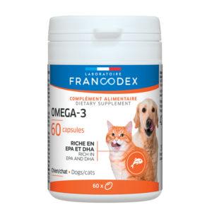 Francodex Omega-3 pour chiens et chats