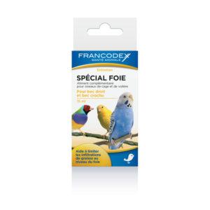 Francodex Spécial Foie Aliment complémentaire pour oiseaux de cage et volière