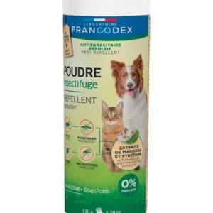 Francodex Poudre insectifuge pour chiens et chats