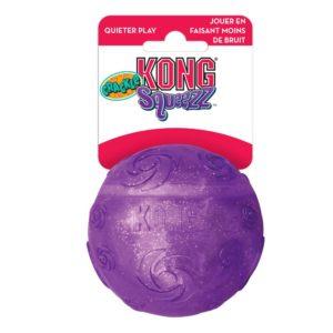 Balle pour chien Kong Squeezz Crackle