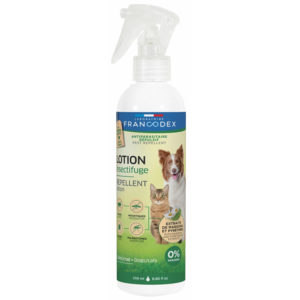 Francodex Lotion insectifuge 0% Paraben pour chiens & chats