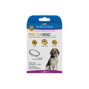 Francodex Prevendog collier anti parasitaire pour chiens petits et moyens