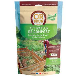Activateur de compost en granulés Or Brun