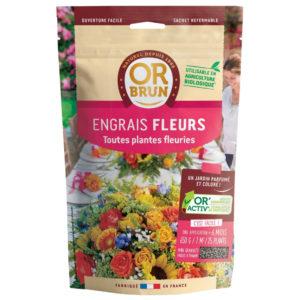 Engrais fleurs en granulés Or Brun