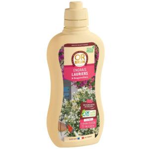 Engrais liquide lauriers-roses et bougainvillers Or Brun
