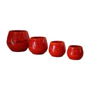 Pot Cancale coloris Soleil Couchant