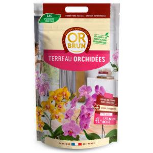 Terreau orchidées Or Brun
