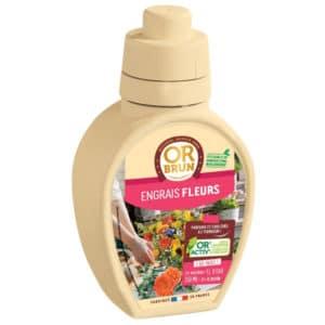 Engrais liquide fleurs Or Brun