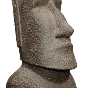 Statue Moaï pour décoration jardin