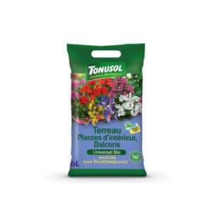 Terreau Plantes d'intérieur & Balcons Bio Tonusol