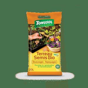Terreau Semis Bio spécial bouturages et repiquages Tonusol