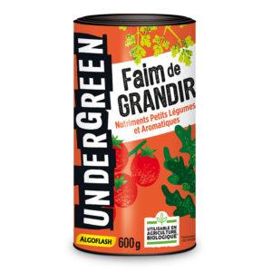 Faim de Grandir - Nutriments petits légumes et aromatiques