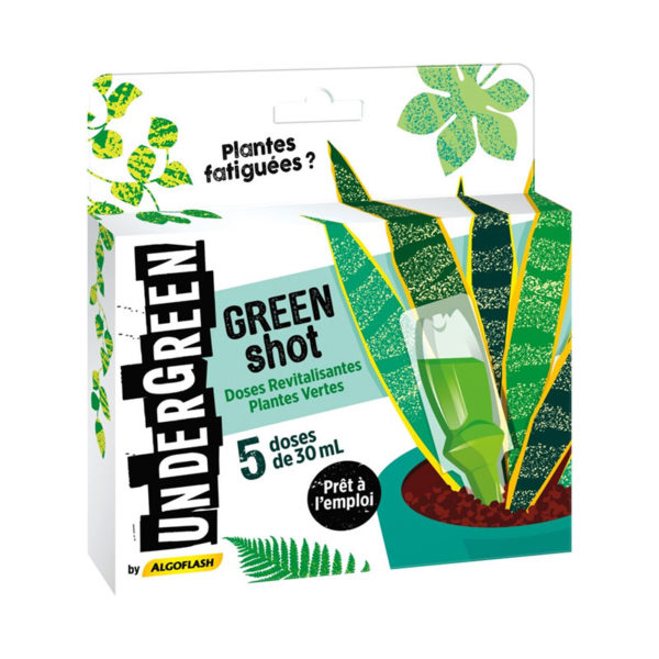 Green Shot - Revitalisant plantes vertes