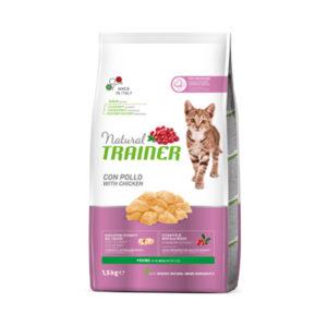 Natural Trainer Kitten Poulet pour chatons de 7 à 12 mois