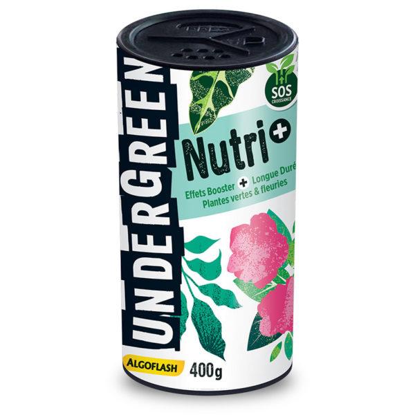 Nutri + Effets booster et longue durée pour plantes vertes et fleuries